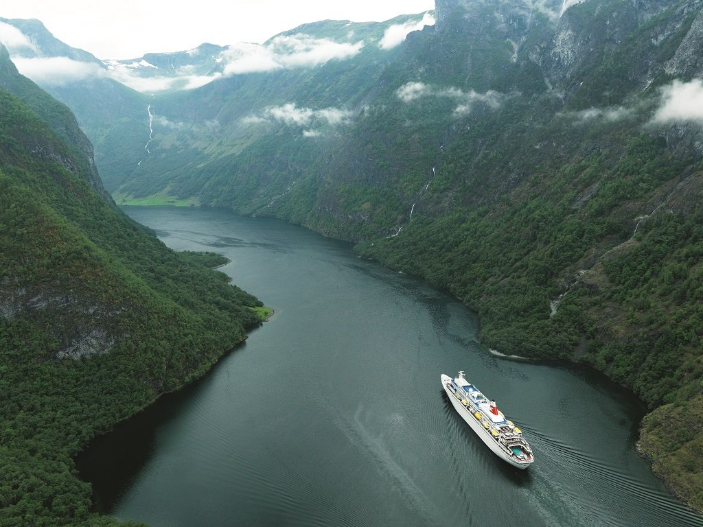 Black Watch cruising Nærøyfjord Norway